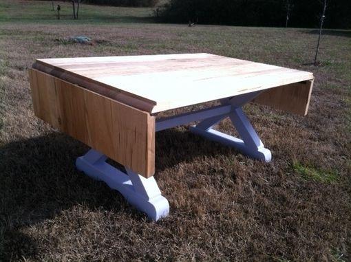 Custom Made Lerner Country Kitchen Table W/Drop Leaves