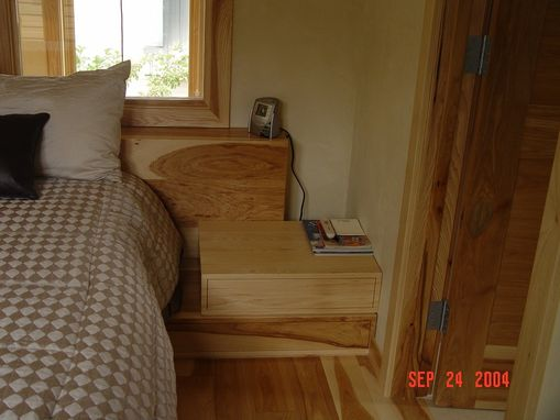 Custom Made Contempary Hickory Bed