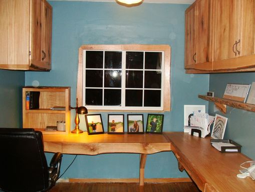 Custom Made Rustic Office