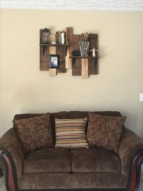 Custom Made Two Tier Shelf