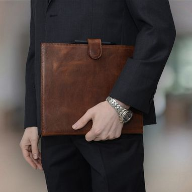 Custom Made Italian Leather Padfolio
