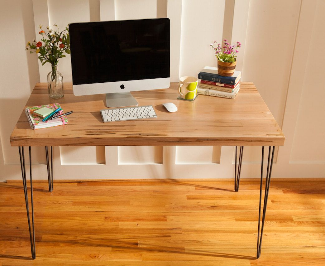 Buy A Handmade Mid Century Modern Desk Featuring An