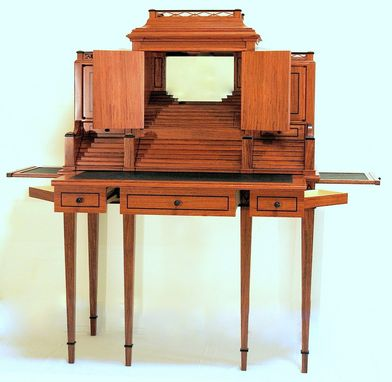 Custom Made Bubinga Writing Desk