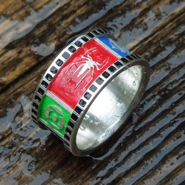 Custom Made Superhero Wedding Band