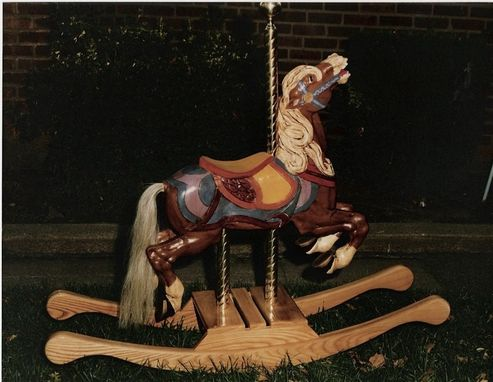 Custom Made Carousel Rocking Horses