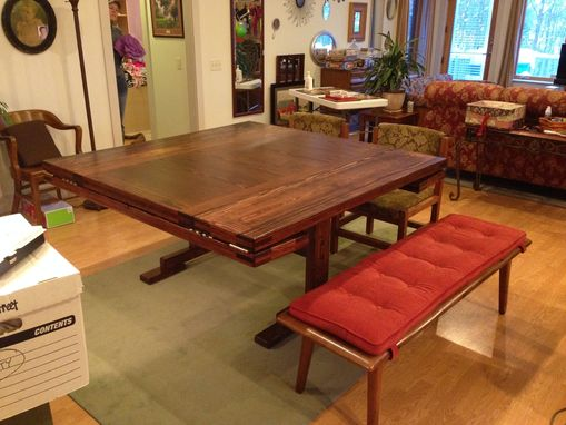 Custom Made Trestle Table Re-Make