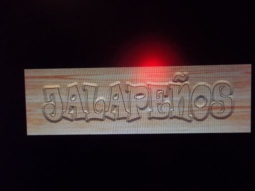 Custom Made Custom Woodcarved Signs