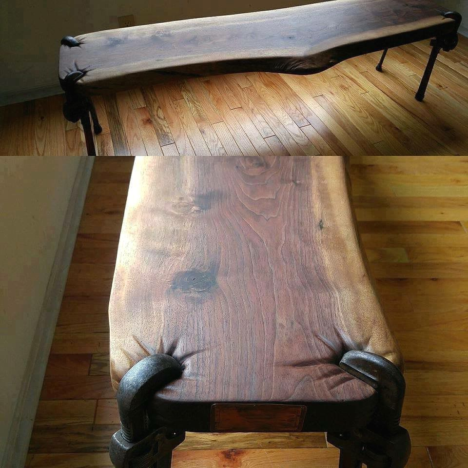 Buy A Custom Pipe Wrench Coffee Table Made To Order From