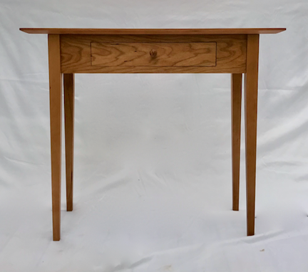 Custom Made Shaker Style Hall Table In Cherry