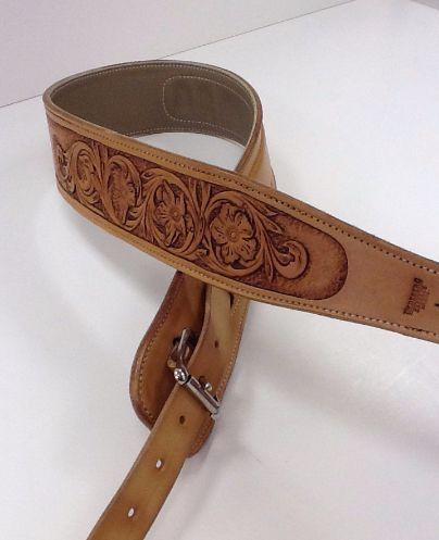 buy a handmade custom leather guitar strap made to order from undeberg saddles. Black Bedroom Furniture Sets. Home Design Ideas