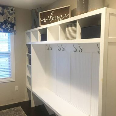 Custom Made Mudroom Entry Locker