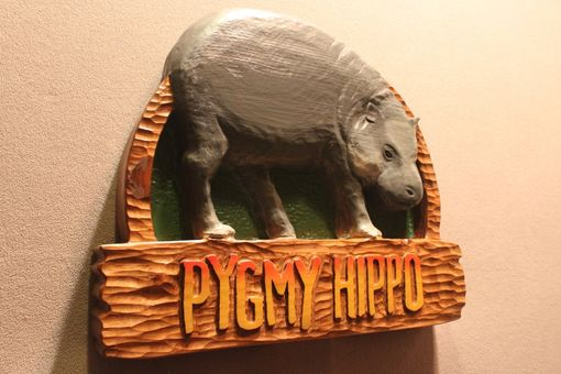 Custom Made Zoo Signs | Animal Signs | Wildlife Signs | Hand Carved Custom Signs By Lazy River Studio