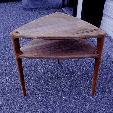 Custom Made 2-Tiered Guitar Pick Side Table