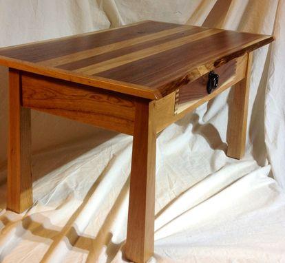 Handmade Unique Live Edge Coffee Table Walnut Amp Cherry By