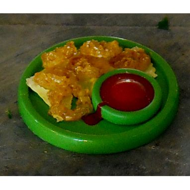 Custom Made Onion Rings Doll House Food