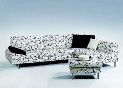 Custom Made Upholstered Sectional Verona