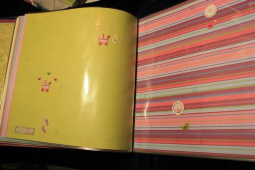 Custom Made New Baby Scrapbook