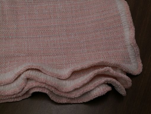 Custom Made Soft Handwoven Baby Blanket