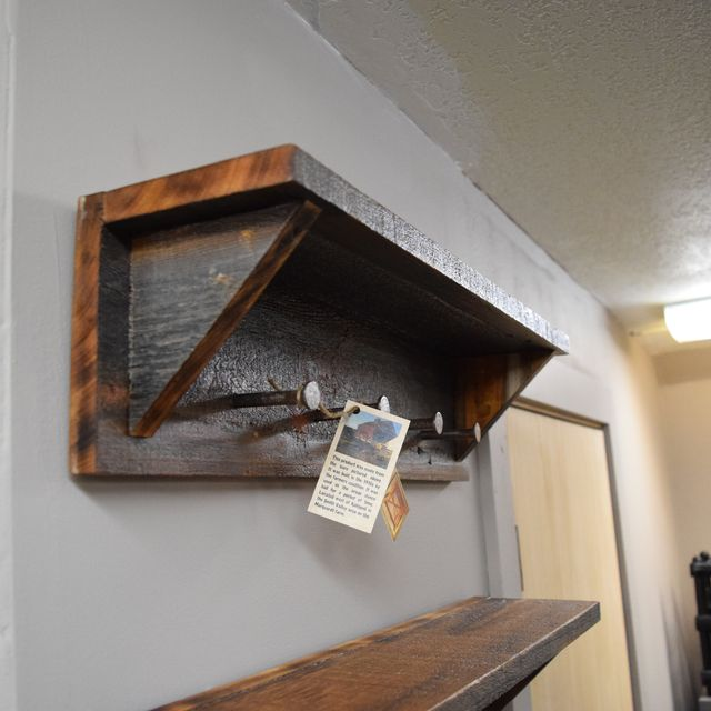 Buy A Handmade Barn Wood Coat Rack Made To Order From Montana Stone Custom Room And Board Coat Rack