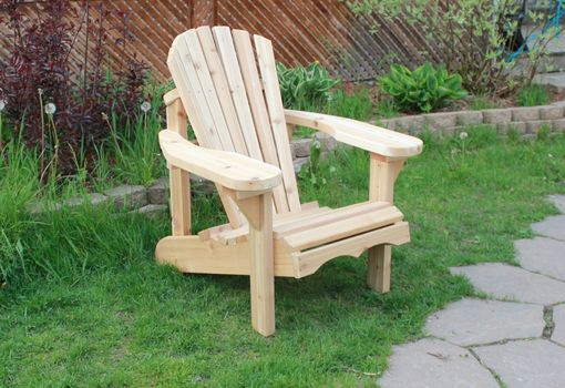 Custom Made Cedar Adirondack Chair