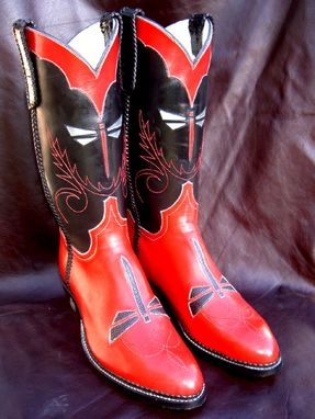 Custom Made Dragonfly Boots
