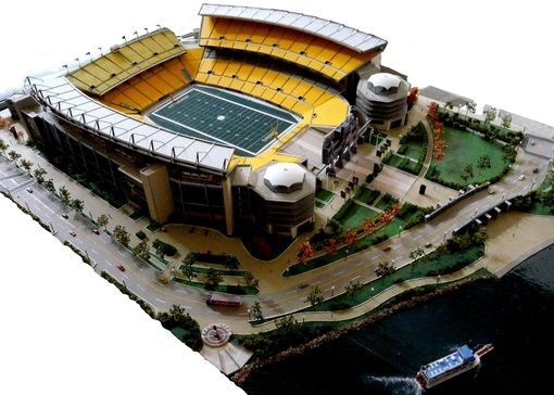 Custom Made Heinz Field Custom Scale Model