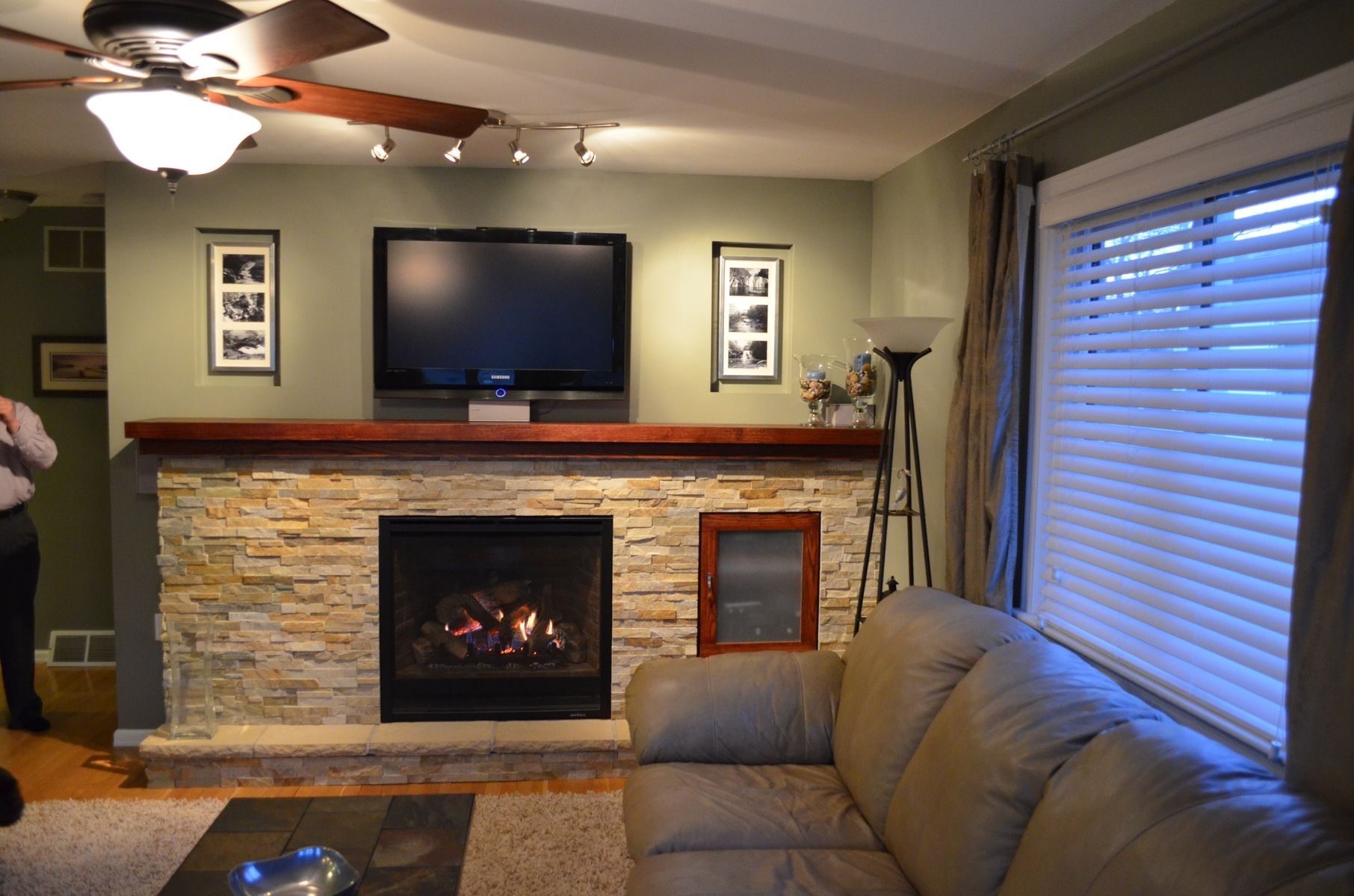 day cabinet days package infrared media is vintage cherry accessories and the electric center lynwood mantel ships tv console in products fireplace delivered same consoles