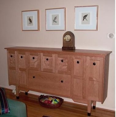 Custom Made Cherry Cabinet