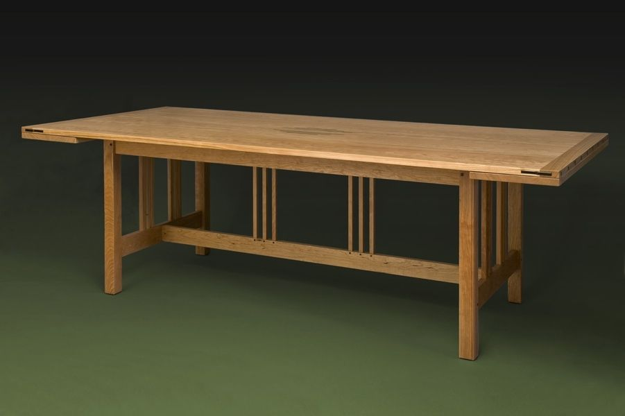 Handmade Custom Mission Dining Table By William Laberge