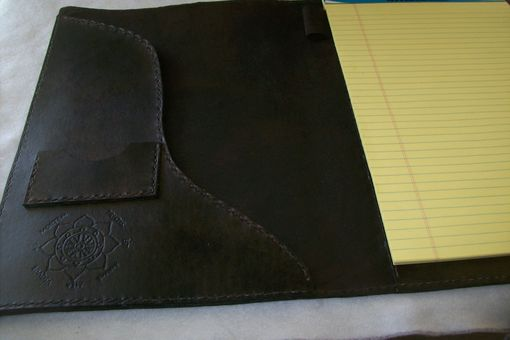 Custom Made Custom Leather Legal Portfolio/Padfolio
