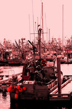 Custom Made Fine Art Photograph Of The Kodiak Harbor