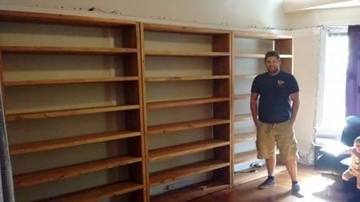Custom Made Huge Bookcases, Massive Bookcases
