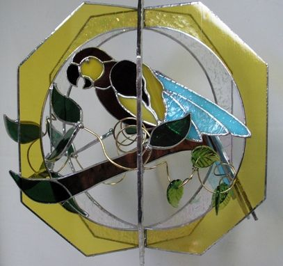 Custom Made Mccaw Stained Glass Ornament