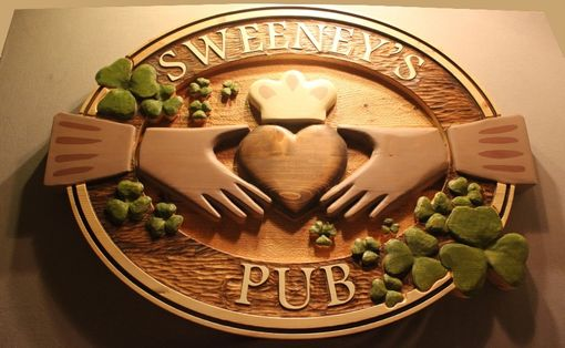 Custom Made Custom Wooden Signs | Carved Wood Signs | Pub Signs | Bar Signs | Home Bar Signs | Tavern Signs