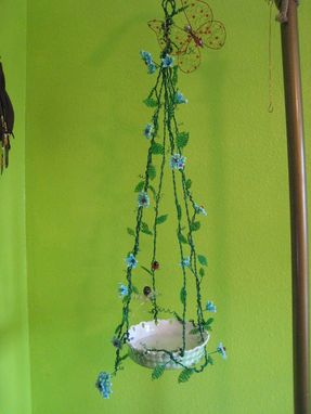 Custom Made Summer Afternoon Hanging Candle Holder Or Bird Feeder