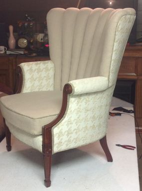 Custom Made Sample - Channel Back Chair