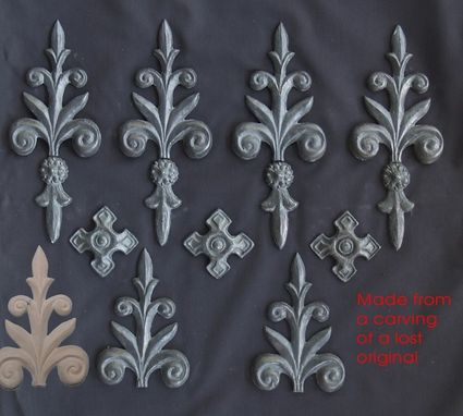 Custom Made Archetectural Lead Castings For Leaded Windows