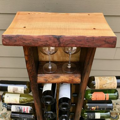 Custom Made Wine Riddling Rack