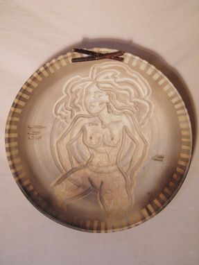 Custom Made Wall Plate With Nude