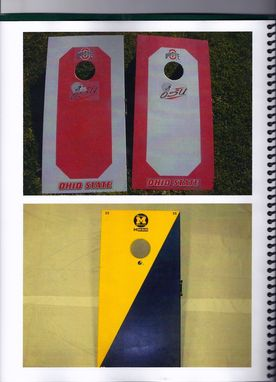Custom Made Custom Made Cornhole Game Sets