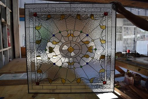 Custom Made Classic & Elegant Victorian Palace Stained Glass Window