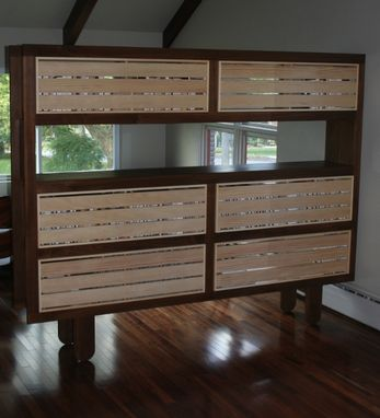 Custom Made Mondo {Bookshelf/Room Divider}