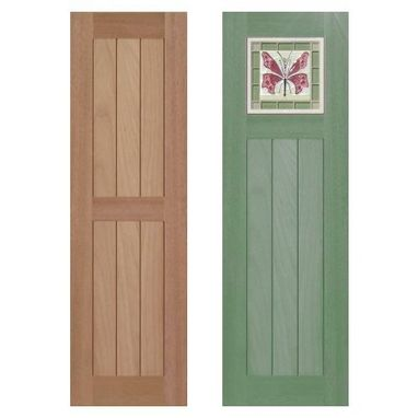 Custom Made Country Cottage Style Shutters