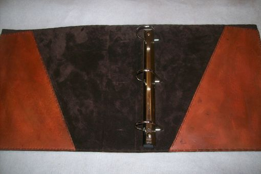 Custom Made Customized Leather Binder Cover
