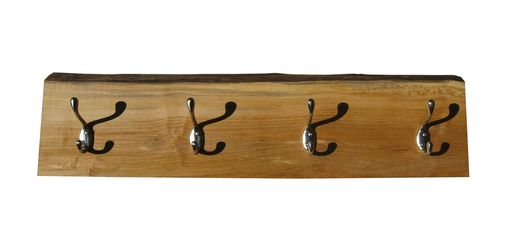 Custom Made Live Edge Maple Coat Rack