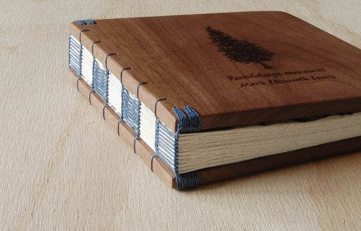 Custom Made Engraved Memorial Guest Book