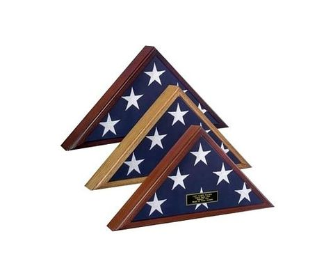 Custom Made Veteran Flag Case