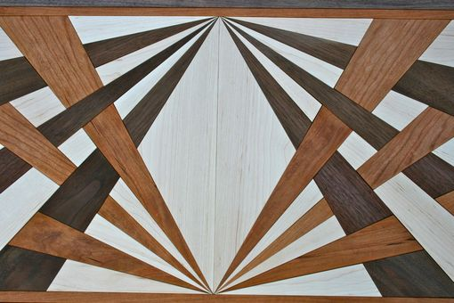 Custom Made Inlaid Coffee Table Top
