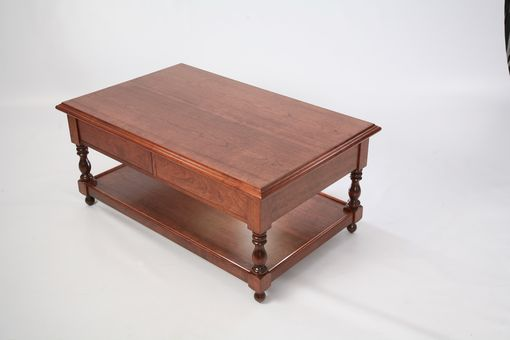 Custom Made Cherry Occasional Table