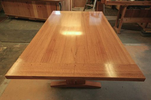 Custom Made Red Oak Farm Table